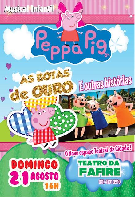 Peppa Pig  no Teatro da Fafire