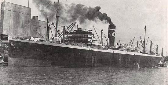 British freighter Rodney Star 16 May 1941 worldwartwo.filminspector.com
