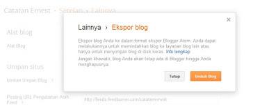 Tips Membackup Artikel Dan Memasukkannya ke Blog Baru