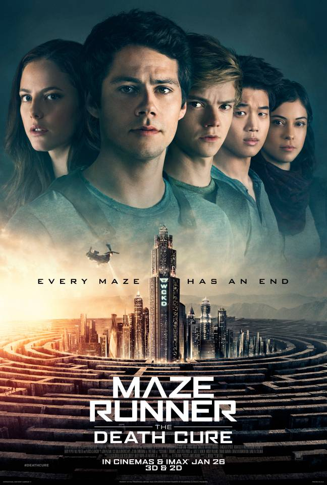 REVIEW MOVIE : MAZE RUNNER - THE DEATH CURE