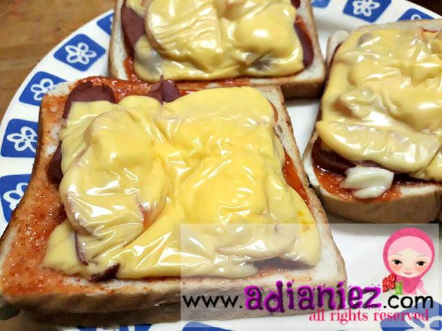 Berbuka Ramadhan 14 : Ayam Percik & Pizza Roti Gardenia