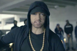 Check out Shelah Moody's report Eminem Rips of  Donald Trump