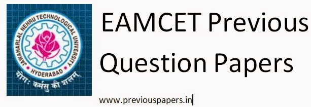 EAMCET Previous Question Paper