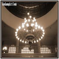 lampu gantung masjid 08