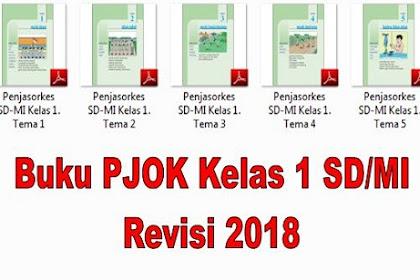 Buku PJOK Kelas 1 SD/MI Revisi 2018