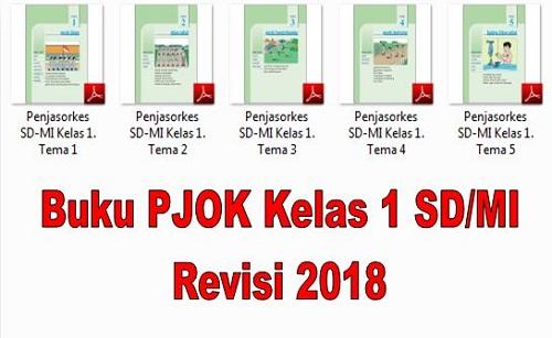 Kumpulan Buku PJOK Kelas 1 SD/MI Revisi 2018