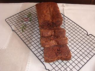 pan de platano y chocolate
