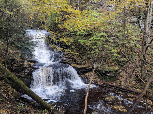 Hiking Pennsylvania: the Falls Trail in Ricketts Glen State Park