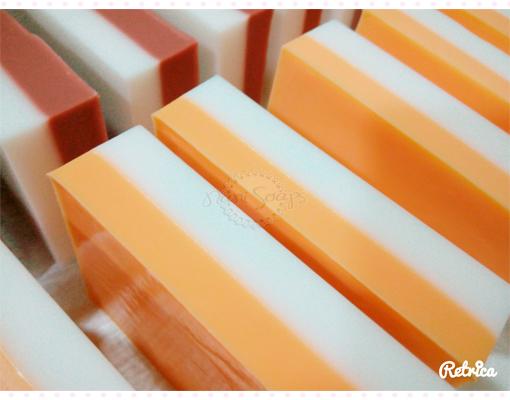 jabones glicerina chocolate naranja