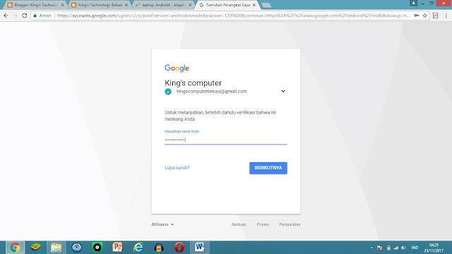 Menemukan HP Android yang Hilang Menggunakan Akun Google