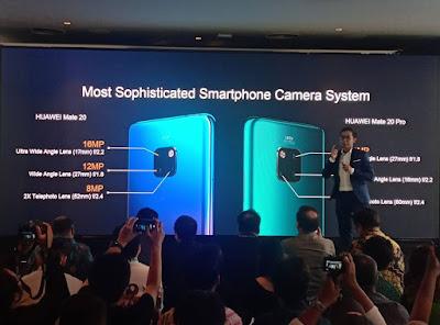 Huawei Mate 20 Dan Mate 20 Pro Hadir Di Indonesia