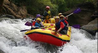 Rafting Tourism Kaliwatu Batu Malang
