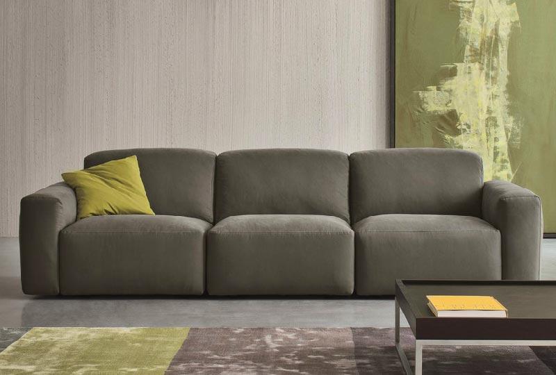 divano in velluto MOON - Dall'Agnese