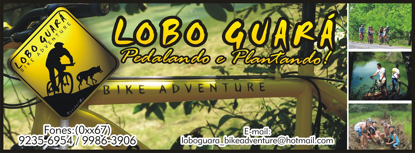 LOBO GUARA BIKE ADVENTURE, essa MUDA PEGA.