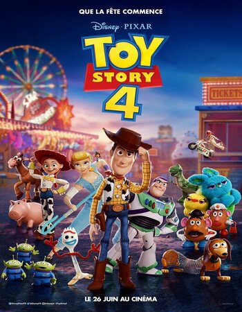 Toy Story 4 (2019) Dual Audio Hindi 480p HDRip x264 300MB ESubs