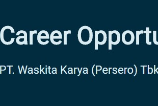 Recruitment PT Waskita Karya (Persero) Tbk