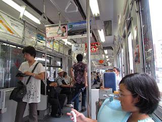 Hiroshima trolleys