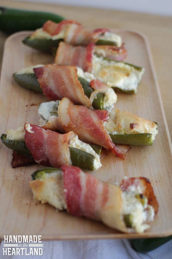 Bacon Wrapped Jalapenos