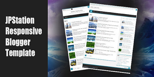 JPStation Responsive Blogger Template by MKR