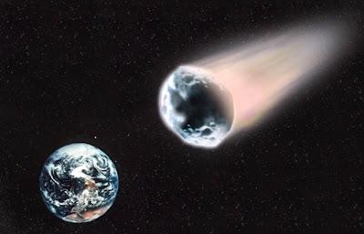 asteoride cair na terra