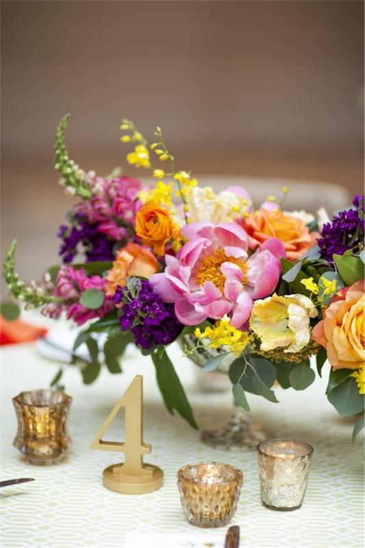 centros de flores para boda chicanddeco