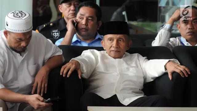 Amien Rais akan Jewer PP Muhammadiyah jika Tak Dukung Prabowo-Sandi