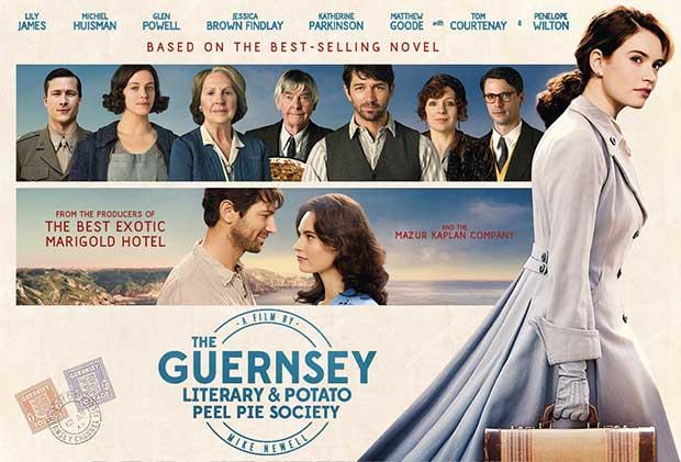La Sociedad Literaria del Pastel de Piel de Patata de Guernsey: Libro y película.