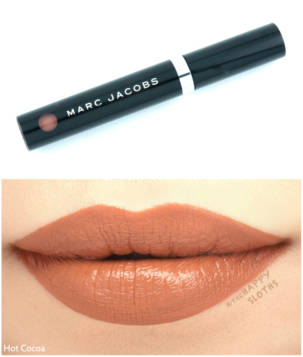 "Marc Jacobs Le Marc Liquid Lip Creme in ""Hot Cocoa"": Review and Swatches"