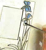 Como hacer portaretratos Art Nouveau