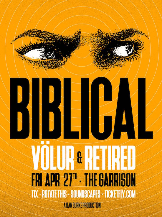 Biblical @ The Garrison, Friday