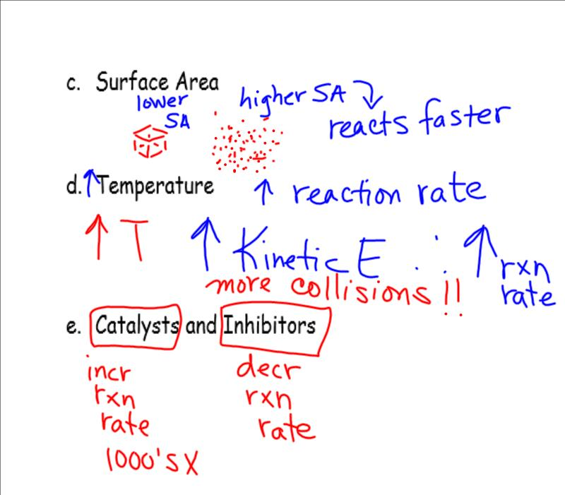 Chemistry Chapter 7 Test Answers