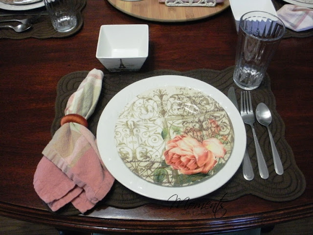 Informal Place Setting