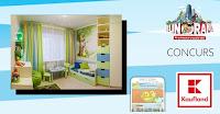 Castiga redecorarea completa a camerei copilului tau