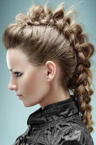 Mohawk braid: