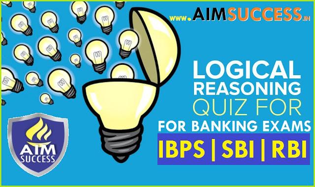 Reasoning for SBI Clerk/PO/RRB 2018: 20 June