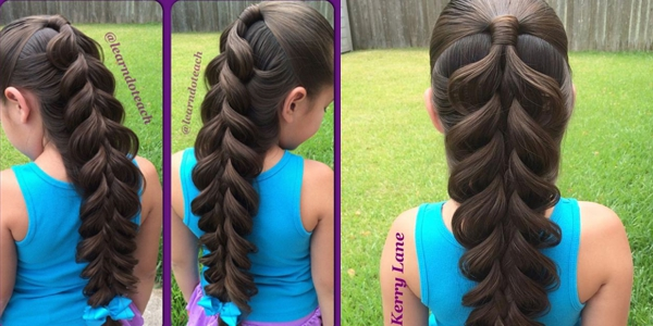 An Absolutely Amazing 5 Strand Braid By Kerry Lane Watch