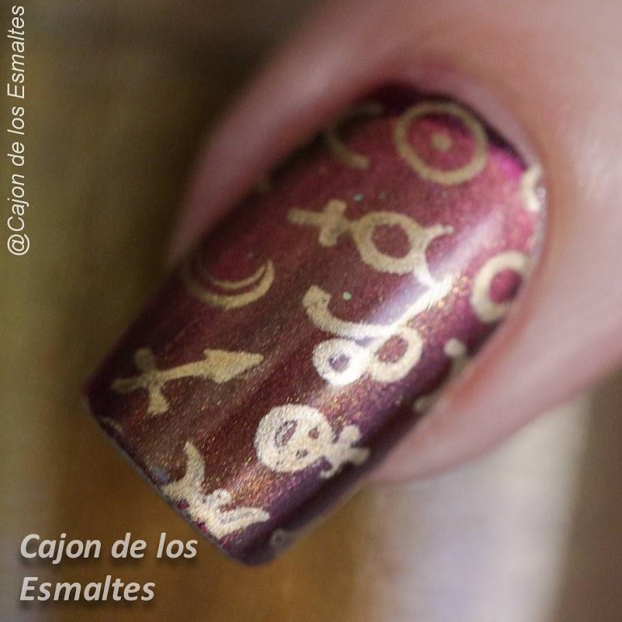 Uñas zodíaco - Placas Ejiubas - Fran Mendez