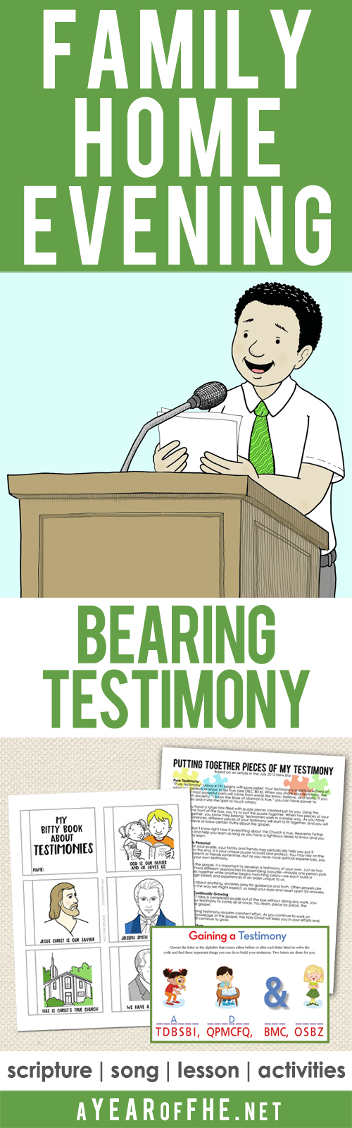 a year of fhe year 02 lesson 33 gaining and bearing your testimony