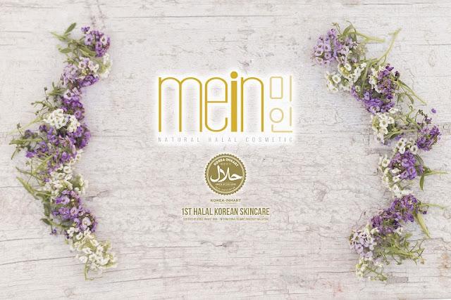 Produk jenama MEiN adalah produk Korea pertama yang mendapat kelulusan HALAL