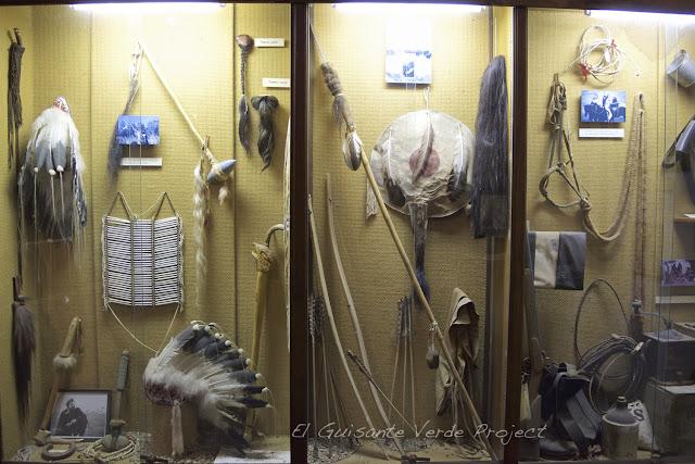 1880 Town - Dakota del Sur, nativos americanos
