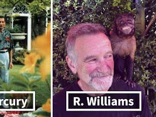 Veja a última foto conhecida de famosos pouco antes de morrer