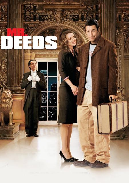 Poster of Mr. Deeds 2002 Full Hindi Dual Audio Movie Download BluRay 720p