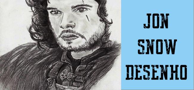 Desenhos Gratis Jon Snow Drawing