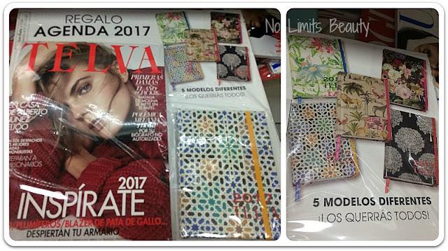 Regalos revistas enero 2017: Telva