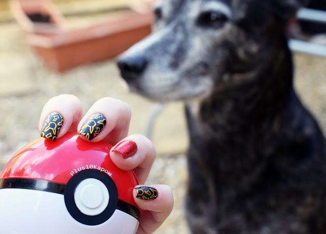 Espionage Cosmetics I choose You nail wraps nerdy nails Fox Smith Pikachu Pokemon