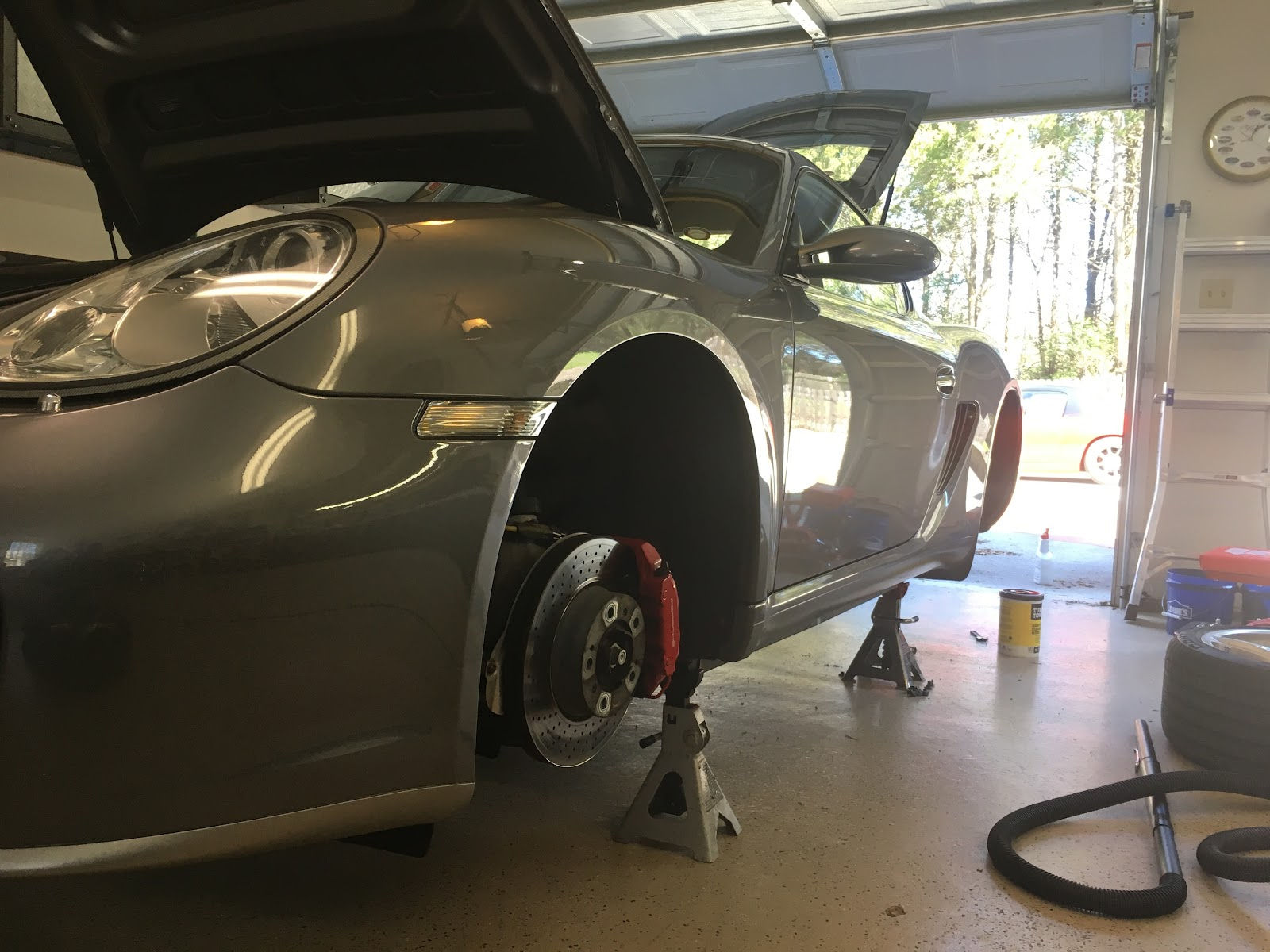Morrison's Garage: 2006 Cayman S Water Pump and Thermostat