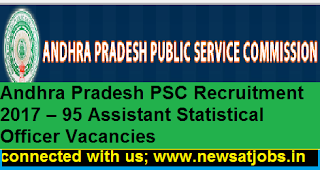 APPSC-95-Assistant-Statistical-Officer-Recruitment-2017