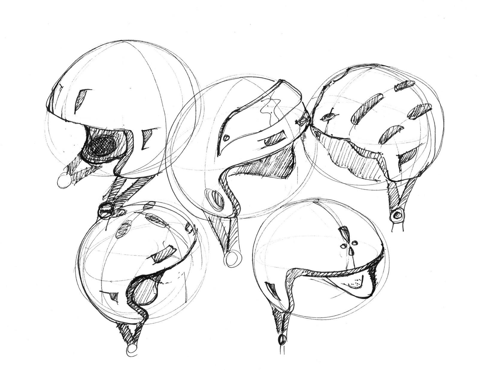 Rye Crowen Design: The helmets...
