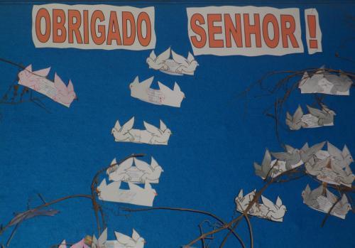 Obrigado Senhor Por Mais Este Dia Que Termina Por Tudo: Escola Municipal Alfredo Belizário Peteffi: 22 De Novembro