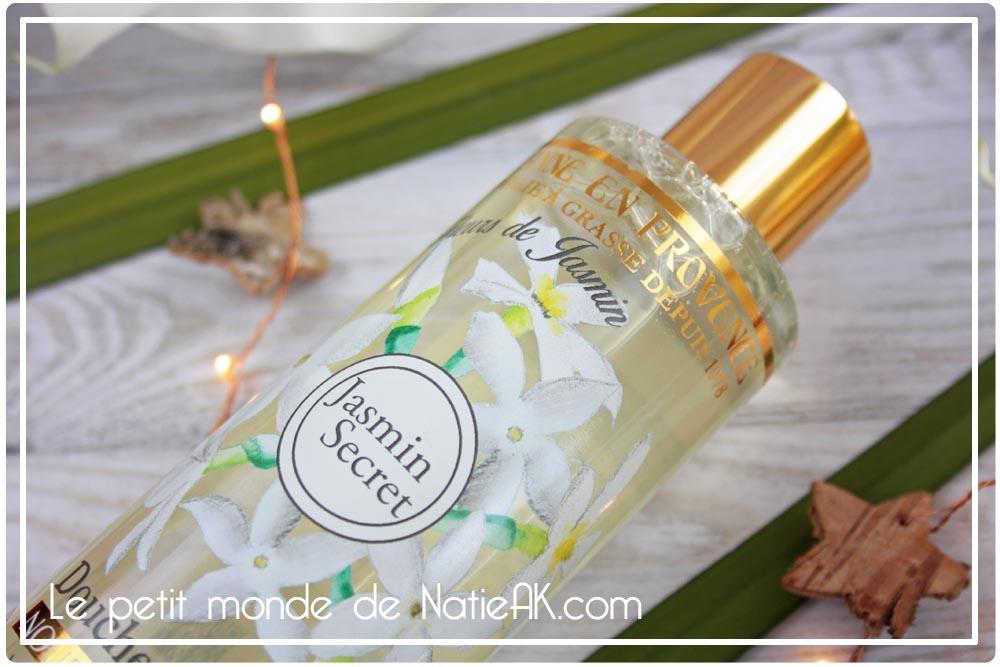 La douche huile nourrissante Jeanne en Provence